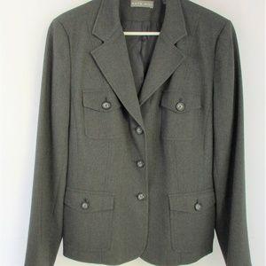 Kate Hill Women's Blazer Size 12 Career Wear